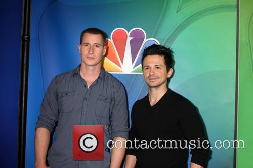 Brendan Fehr and Freddy Rodriguez