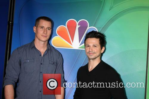 Brendan Fehr and Freddy Rodriguez