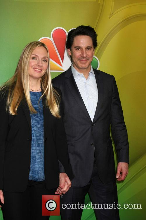Hope Davis and Scott Cohen