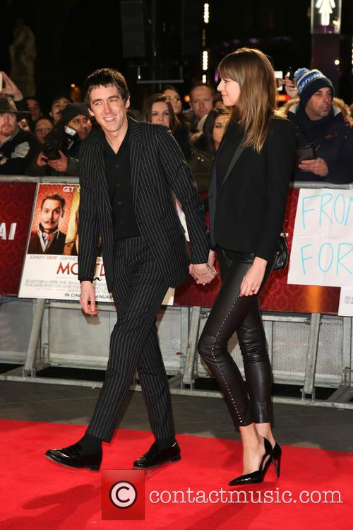 Miles Kane and Girlfriend 6