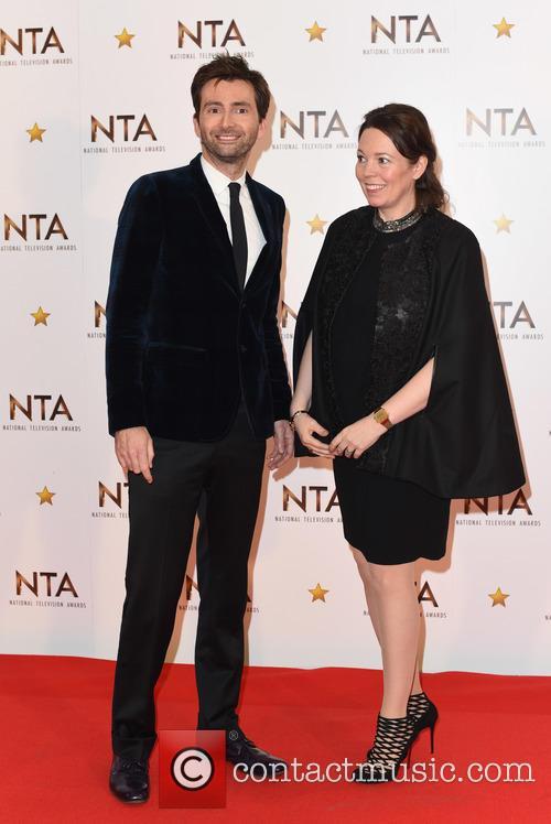 David Tennant and Olivia Colman 8
