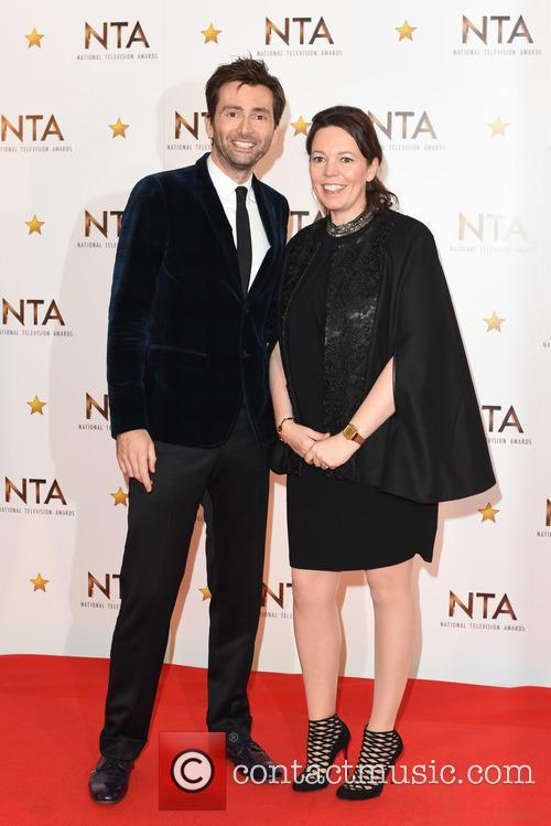 David Tennant and Olivia Colman 1