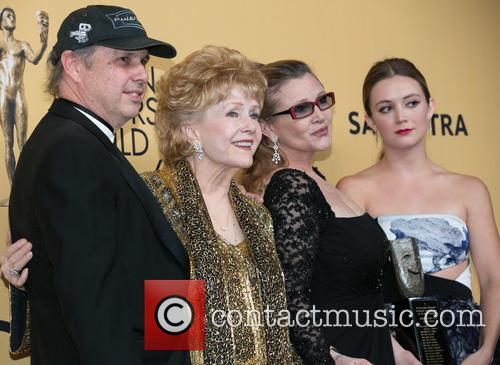 Todd Fisher, Carrie Fisher, Debbie Reynolds and Billie Catherine Lourd