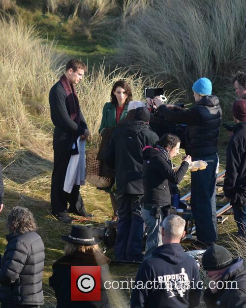 Jim Sheridan, Rooney Mara and Theo James 6