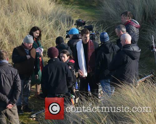 Jim Sheridan, Rooney Mara and Theo James 7