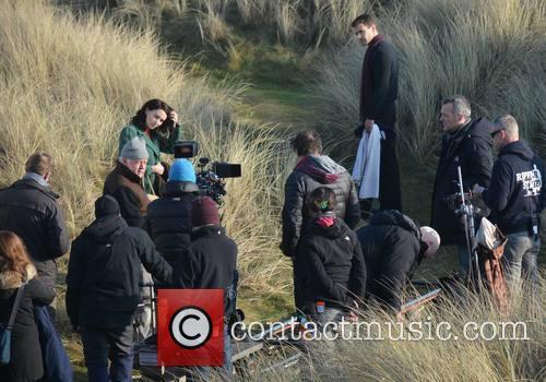 Jim Sheridan, Rooney Mara and Theo James 8