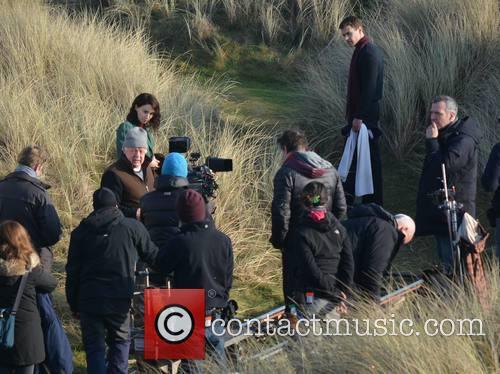 Jim Sheridan, Rooney Mara and Theo James 1
