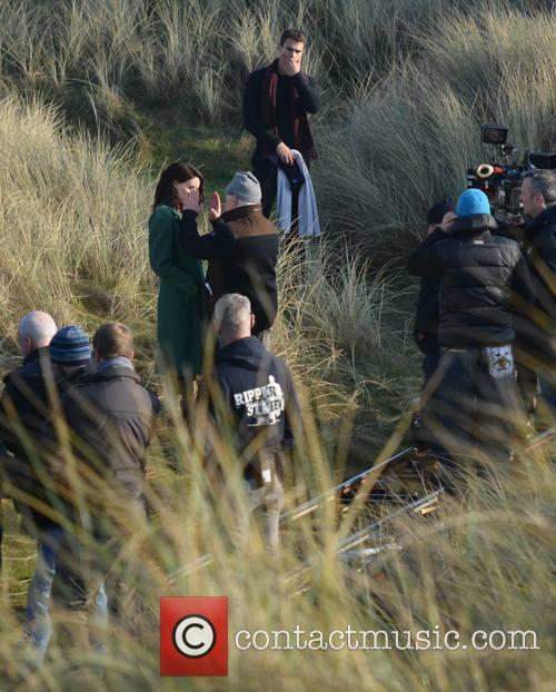 Jim Sheridan, Rooney Mara and Theo James 9