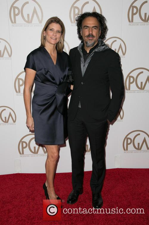 Maria Eladia Hagerman and Alejandro Gonzalez Inarritu