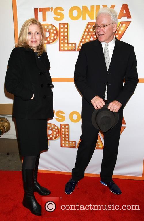 Diane Sawyer and Steve Martin