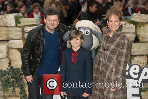 Lorraine Ashbourne, Andy Serkis and Guest