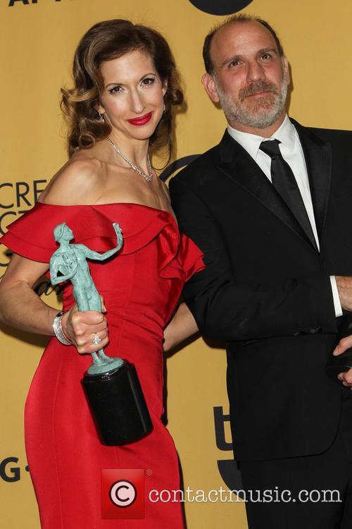 Alysia Reiner and Nick Sandow