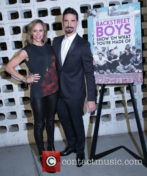 Backstreet Boys, Mandy Richardson and Kevin Richardson