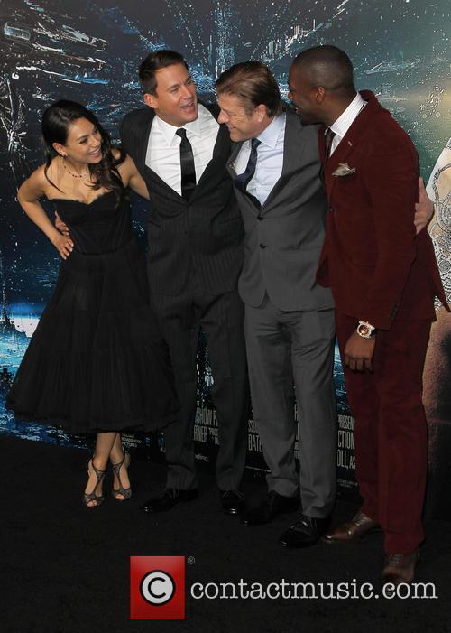 Mila Kunis, Channing Tatum, Sean Bean and David Ajala 2