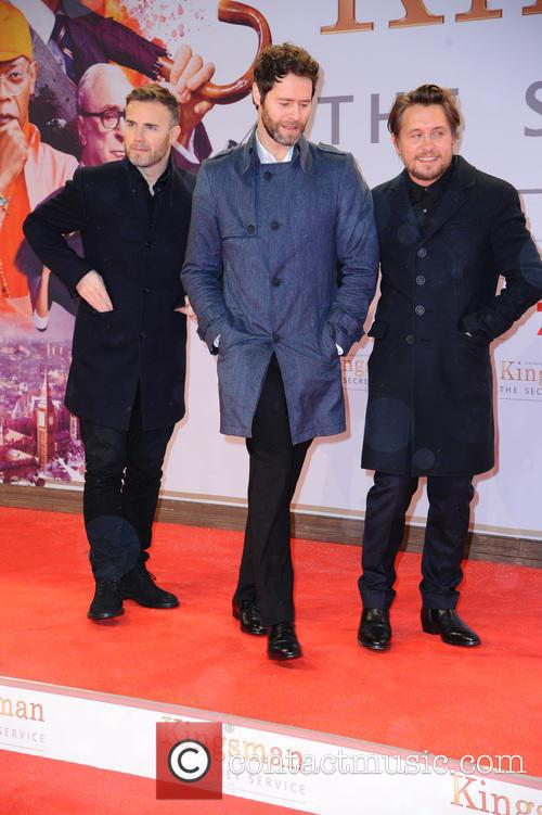Take That, Gary Barlow, Howard Donald and Mark Owen 1