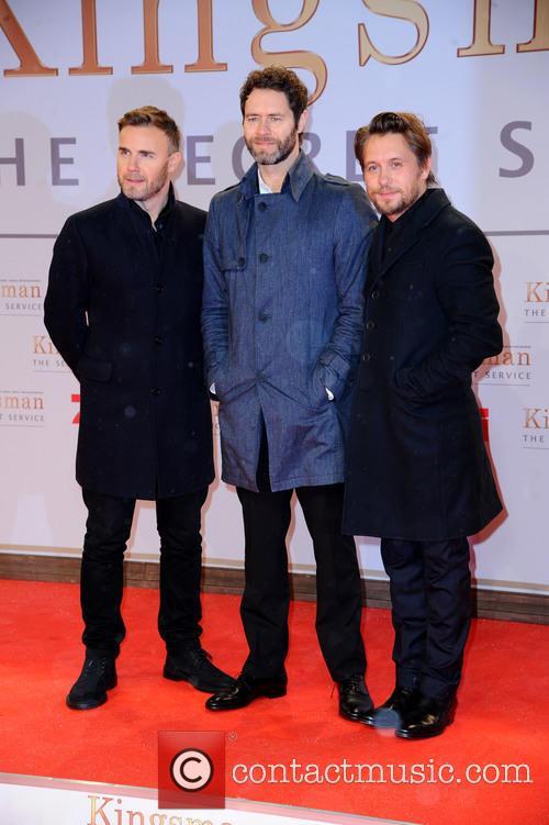 Take That, Gary Barlow, Howard Donald and Mark Owen 3