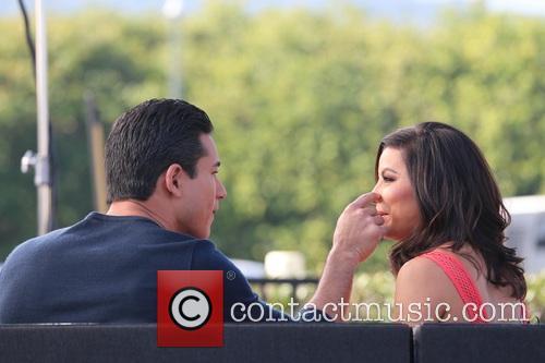 Eva Longoria and Mario Lopez 4