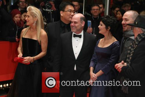 Martha De Laurentiis, Matthew Weiner and Audrey Tautou