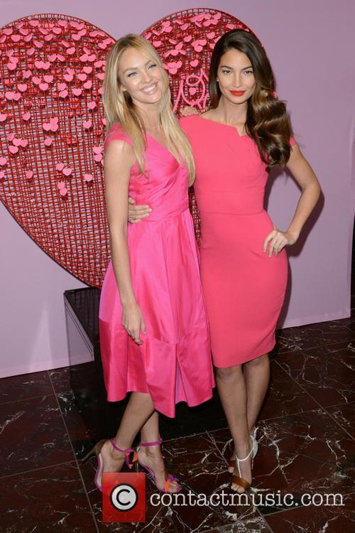 Candice Swanepoel and Lily Aldridge 2