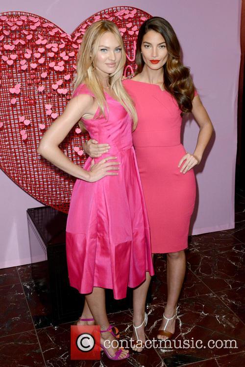Candice Swanepoel and Lily Aldridge 4