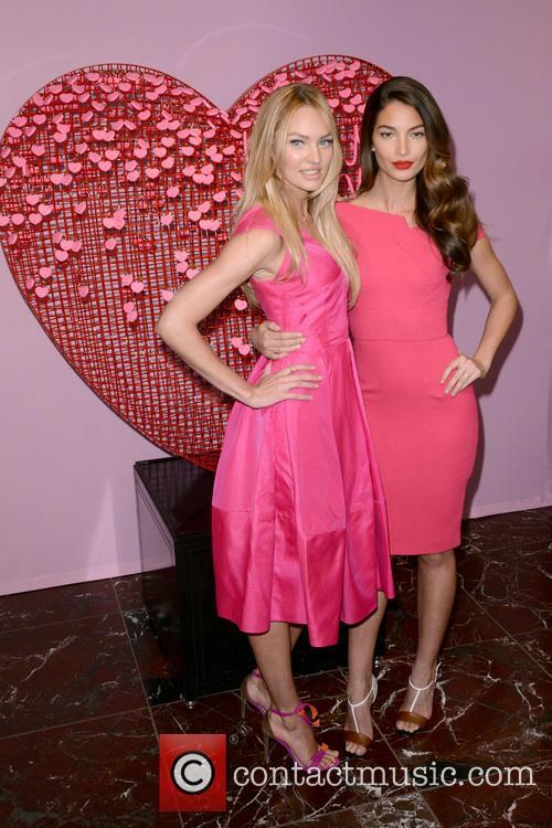 Candice Swanepoel and Lily Aldridge 5