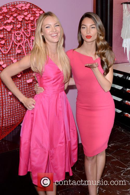 Candice Swanepoel and Lily Aldridge 8