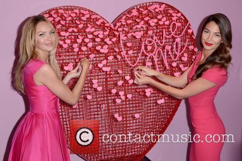 Candice Swanepoel and Lily Aldridge 11