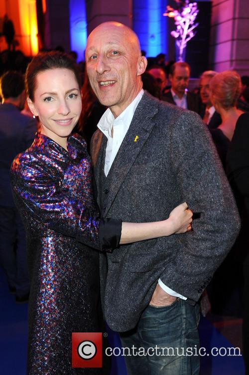Oliver Hirschbiegel and Katharina Schuettler