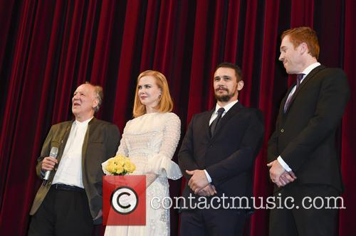 Werner Herzog, Nicole Kidman, James Franco and Damien Lewis