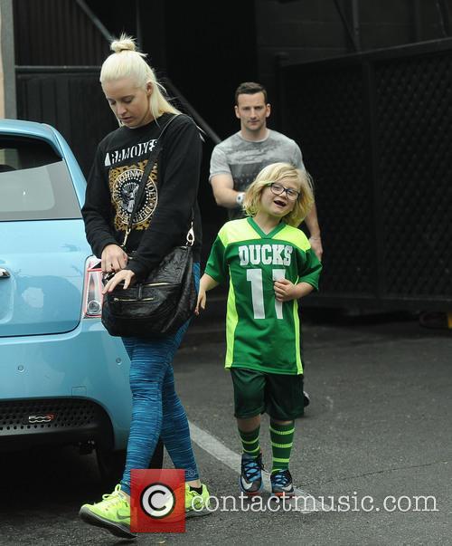 Gwen Stefani, Zuma Rossdale and Mindy Mann