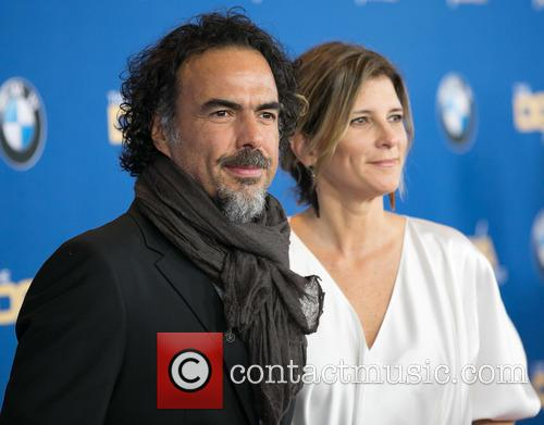 Alejandro González Iñárritu and María Eladia Hagerman