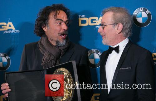 Alejandro González Iñárritu and Steven Spielberg