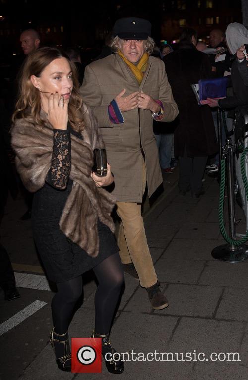Bob Geldof and Jeanne Marine 2