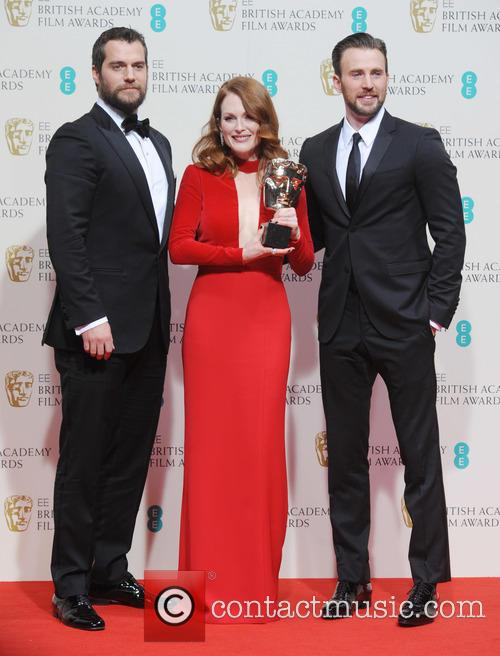 Julianne Moore, Chris Evans and Henry Cavill
