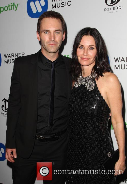 Courteney Cox and John Mcd