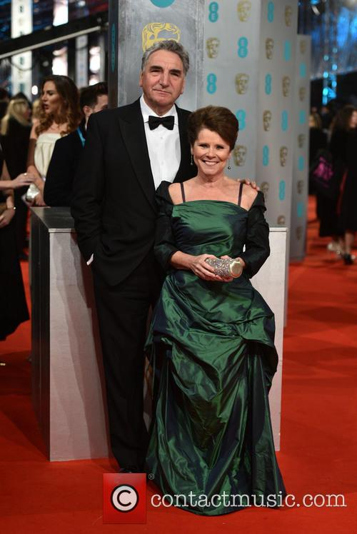 Imelda Staunton and Jim Carter