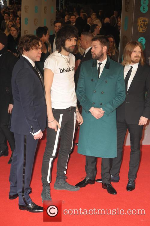 Kasabian, Tom Meighan, Sergio Pizzorno, Chris Edwards and Ian Matthews