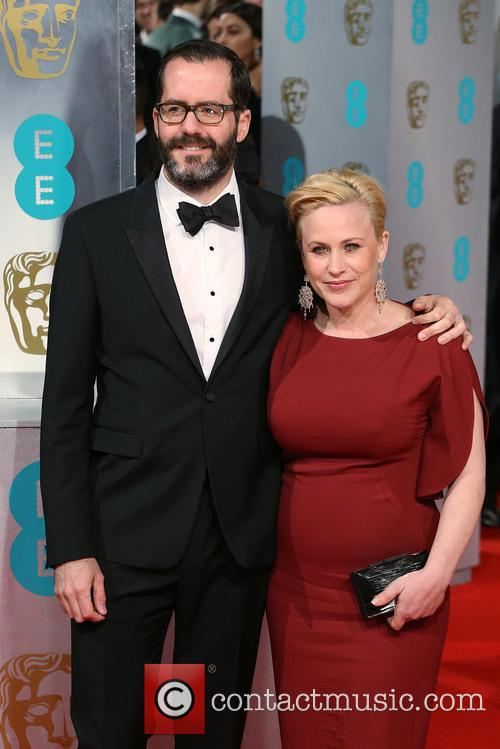 Eric White and Patricia Arquette