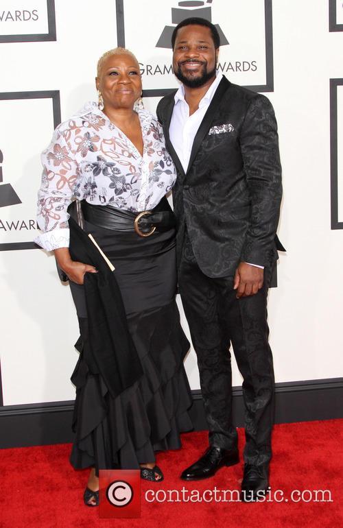 Malcolm-jamal Warner and Pamela Warner