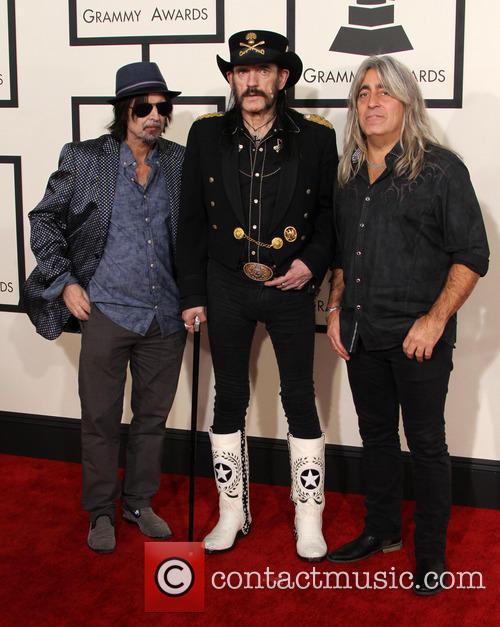 Ian Kilmister, Phil Campbell and Mikkey Dee 5