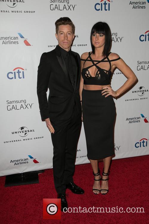 Shaun White and Sarah Barthel