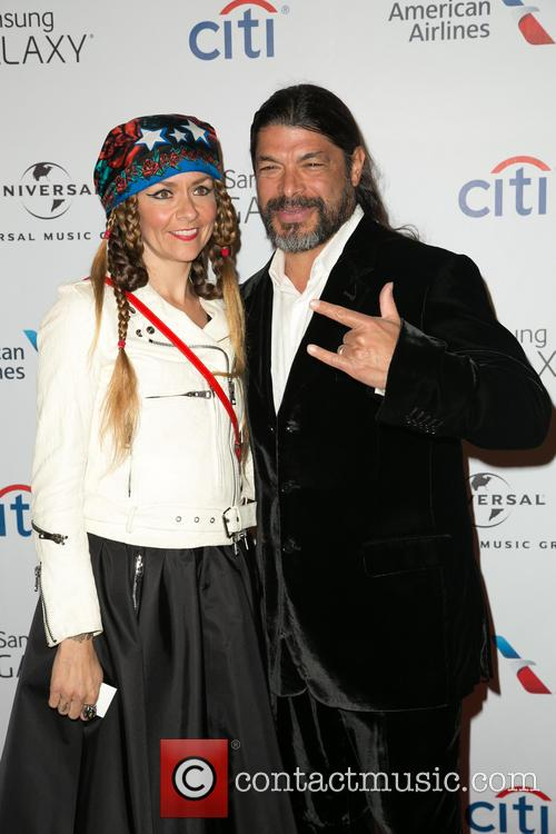 Chloé Trujillo and Robert Trujillo