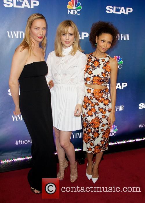 Uma Thurman, Melissa George and Thandie Newton 2