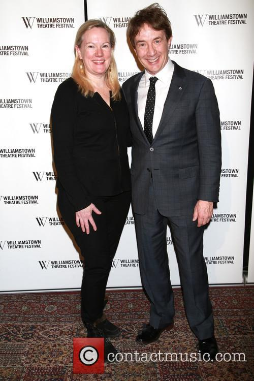 Kathleen Marshall and Martin Short