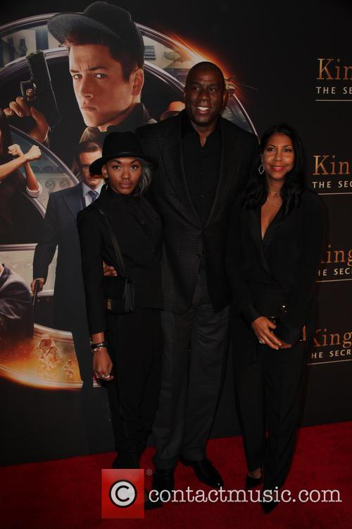 Elisa Johnson, Magic Johnson and Cookie Johnson 2