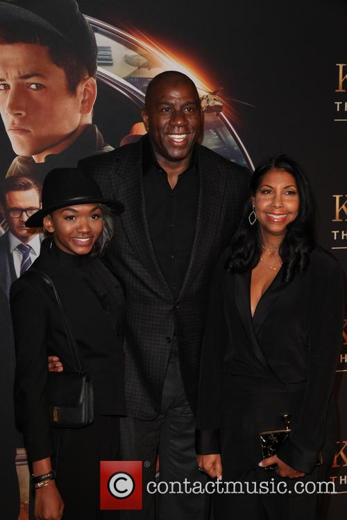 Elisa Johnson, Magic Johnson and Cookie Johnson 1