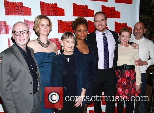 Joel Drake Johnson, Cynthia Nixon, Patricia Conoly, Tonya Pinkins, Darren Goldstein, Danne Wiest and Scott Elliott