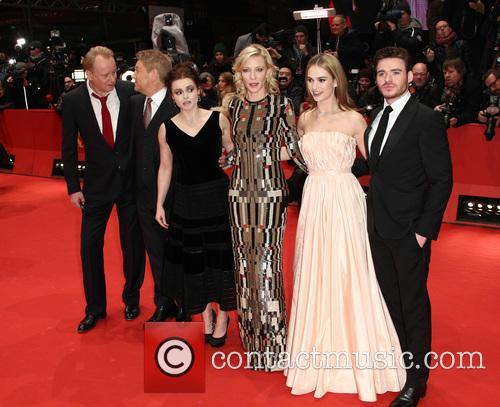 Stellan Skarsgard, Kenneth Branagh, Cate Blanchett, Lily James, Richard Madden and Helena Bonham Carter 5