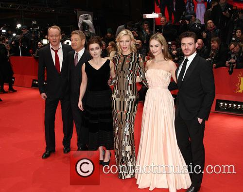 Stellan Skarsgard, Kenneth Branagh, Cate Blanchett, Lily James, Richard Madden and Helena Bonham Carter 6