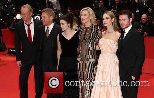Stellan Skarsgard, Kenneth Branagh, Cate Blanchett, Lily James, Richard Madden and Helena Bonham Carter 7